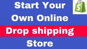 Start Dropshipping business online