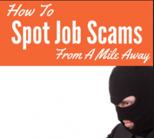 ways to avoid home job scams