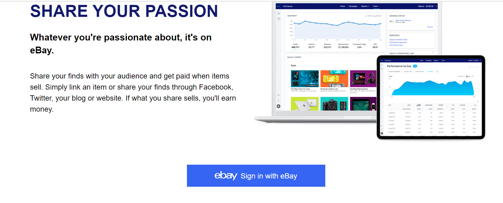 How To Make Money With Ebay Partner Network In 2020